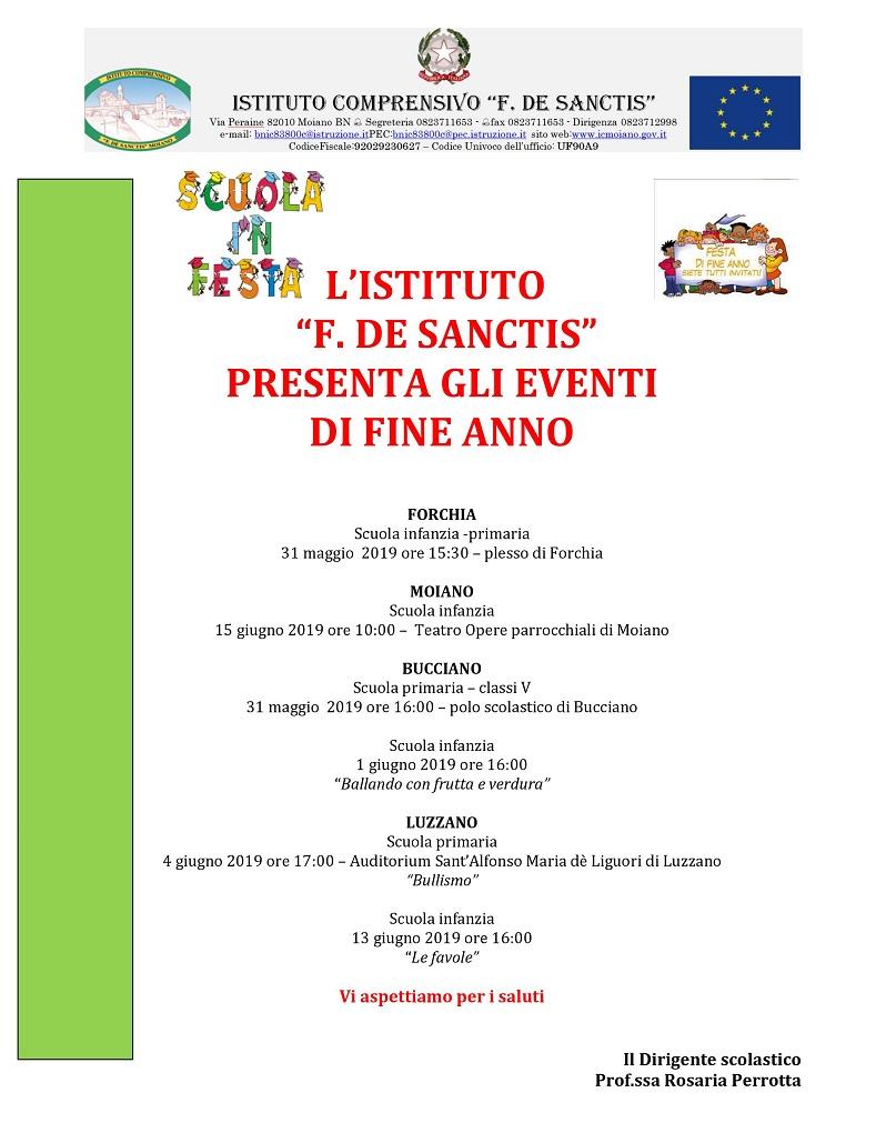 Manifesto Fina Anno